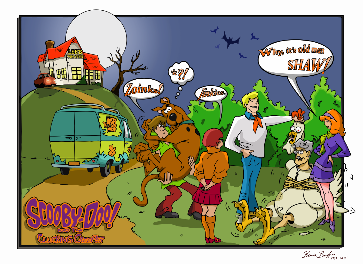 Scooby Doo Drawing Final Alt2